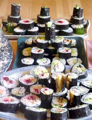 Кухне или как приготовить суши дома