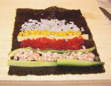 Салат суши приготовить дома